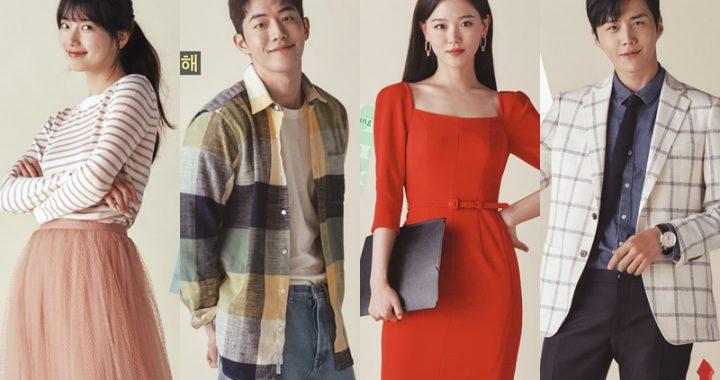 """ซูจี, นัมจูฮยอก, คังฮันนาและคิมซอนโฮ ให้ข้อมูลเชิงลึกเกี่ยวกับตัวละครใน """"Start-Up"""" ผ่านโปสเตอร์"""