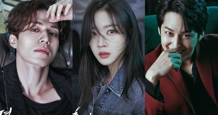 ละครแฟนตาซีทางช่อง tvN เปิดตัวโปสเตอร์ตัวละครที่โดดเด่นของอีดงอุค(Lee Dong Wook), โจโบอา(Jo Bo Ah) และคิมบอม(Kim Bum)