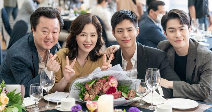 """พัคโบกอม(Park Bo Gum) ร่วมกับครอบครัวเพื่อเฉลิมฉลองโอกาสพิเศษในละครเรื่อง """"Record Of Youth"""""""