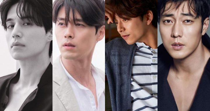 นักแสดงชายเกาหลีที่ปัจจุบันดูหล่อขึ้นมากกก