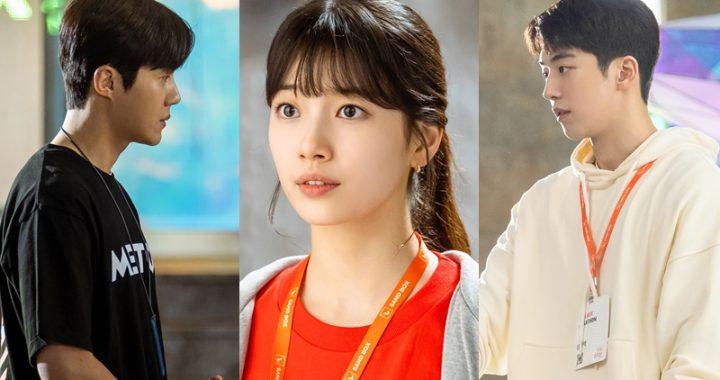 """ละครเรื่องใหม่ """"Start-Up"""" เผยมุมมองรักสามเส้าระหว่างซูจี(Suzy), นัมจูฮยอก(Nam Joo Hyuk) และคิมซอนโฮ(Kim Seon Ho)"""