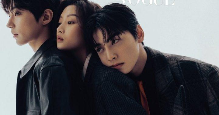 """ชาอึนอู(Cha Eun Woo), มุนกานยอง(Moon Ga Young) และฮวางอินยอบ(Hwang In Yeob) พูดคุยเกี่ยวกับตัวละครใน """"True Beauty"""" การแสดงและอื่นๆ"""