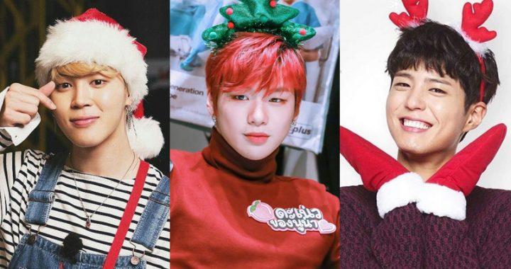 ชาวเกาหลีโหวตให้คนดังที่อยากใช้เวลาในช่วงคริสต์มาสอีฟด้วยมากที่สุด