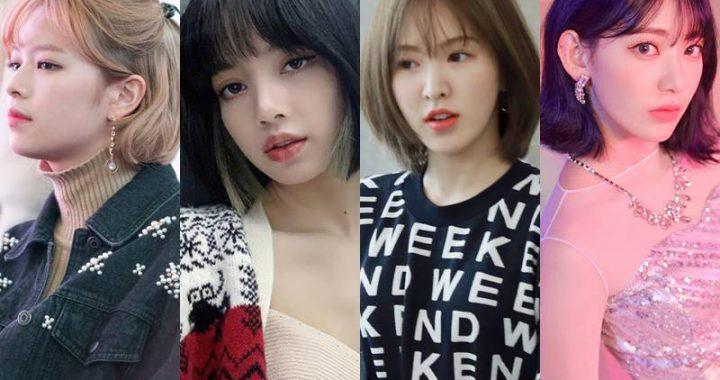 10 ไอดอลสาวเกาหลีที่ดูดีกับผมสั้น
