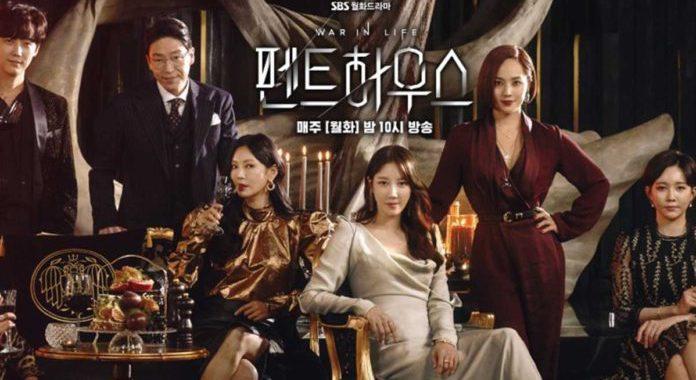 """""""The Penthouse 2"""" ครองอันดับต้น ๆ ของอันดับนักแสดงและละครเกาหลีที่ได้รับความนิยมในสัปดาห์สุดท้ายของการออกอากาศ"""