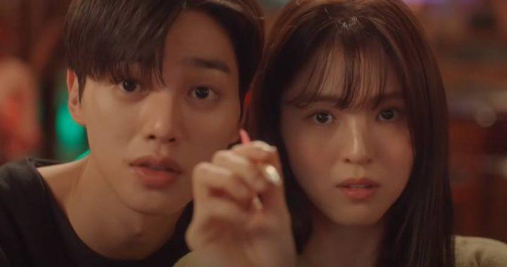 """ซงคัง(Song Kang) เล่นกับหัวใจของฮันโซฮี(Han So Hee) ในทีเซอร์สำหรับละครเรื่องใหม่ """"Nevertheless"""""""
