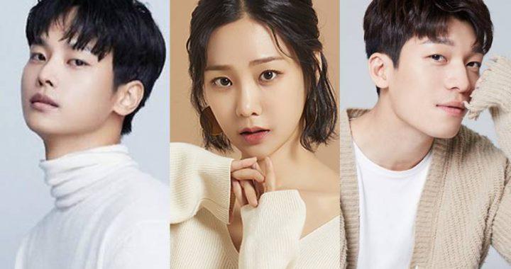 ฮันจีอึน(Han Ji Eun), ชาฮัคยอน(Cha Hak Yeon) และวีฮาจุน(Wi Ha Joon) เจรจาสำหรับละครเรื่องใหม่ทางช่อง OCN