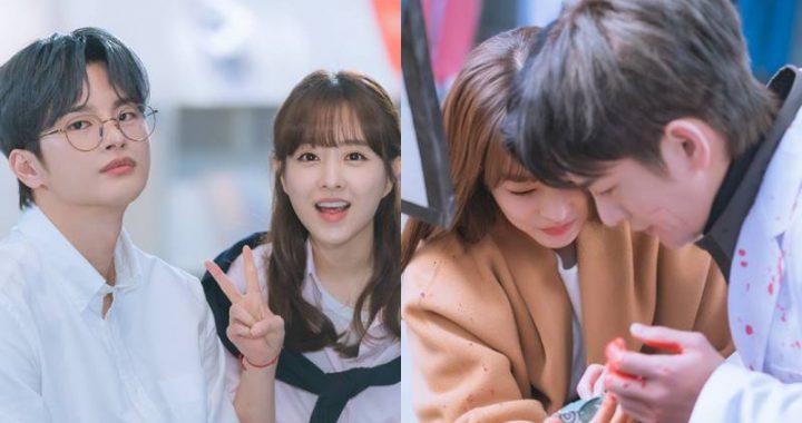 """เคมีที่น่ารักของพัคโบยอง(Park Bo Young) และซออินกุก(Seo In Guk) หลังกล้องในเบื้องหลัง """"Doom At Your Service"""""""