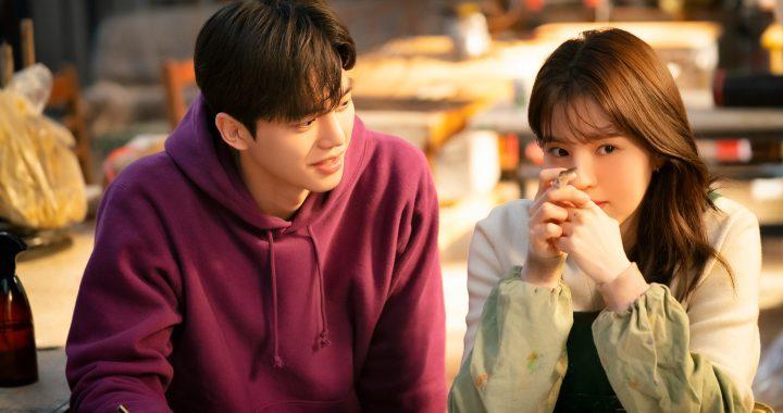 """ซงคัง(Song Kang) และฮันโซฮี(Han So Hee) เป็นคู่หูที่ขยันและน่ารักในกองถ่าย """"Nevertheless"""""""
