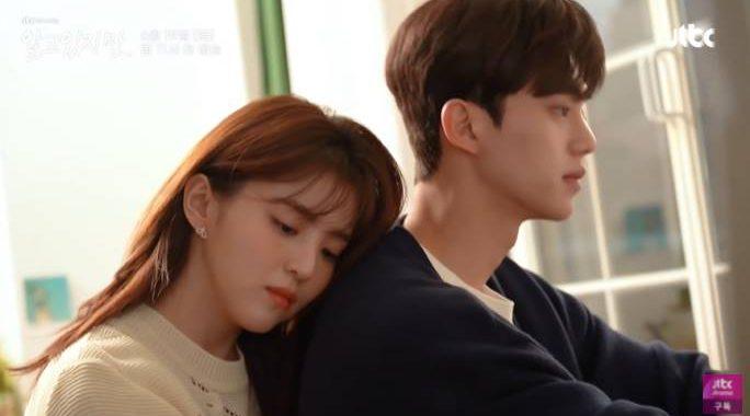 """ซงคัง(Song Kang) และฮันโซฮี(Han So Hee) สร้างภาพคู่รักที่สมบูรณ์แบบเบื้องหลังของ """"Nevertheless"""""""