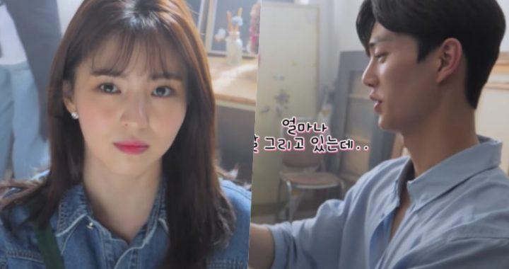 """ซงคัง(Song Kang) และฮันโซฮี(Han So Hee) ปลดปล่อยศักยภาพทางศิลปะของพวกเขาในกองถ่าย """"Nevertheless"""""""