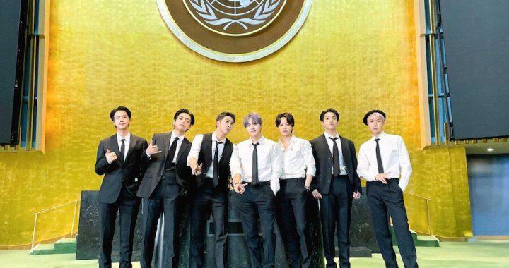 """BTS แชร์ข้อความแห่งความหวังสำหรับคนรุ่นใหม่ แสดง """"Permission To Dance""""  ที่สหประชาชาติ"""